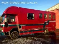 7.5 tonne Ford Cargo Horsebox