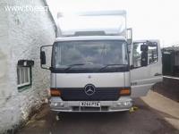 Mercedes 815 W reg