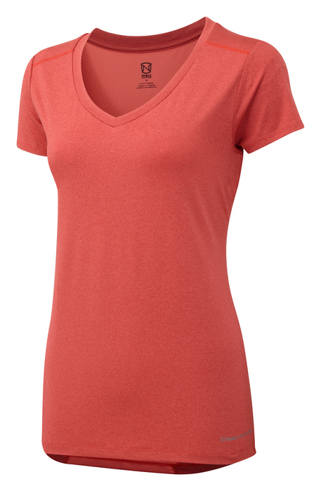 Noble Outfitters ~ Ladies Karleigh Short-Sleeve V'Neck T'Shirt