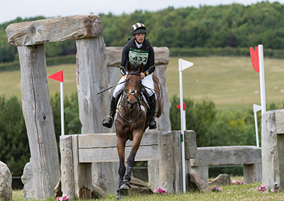 Tow Rowland and Very Good Tempo in action at Barbury. Image courtesy Trevor Holt / Kingfisher Media Services